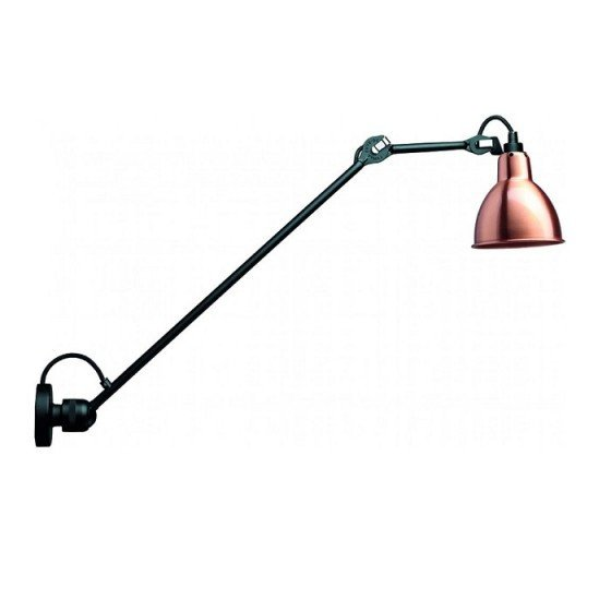 Lampe Gras Nº304 L 60 Black/Copper Wall/Ceiling