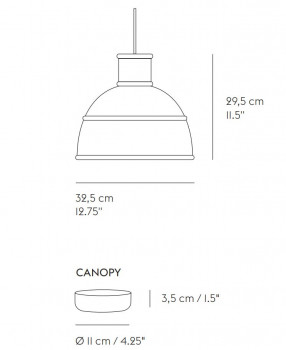 Specification image for Muuto Unfold