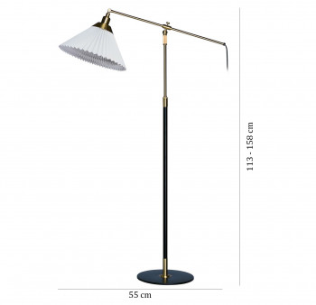 Specification image for Le Klint 349 Floor Lamp