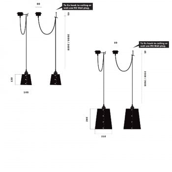 Buster + Punch Hooked 1.0 Suspension / Pendant Light Specification