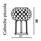 Foscarini Caboche Table Piccola