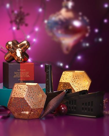 Tom Dixon Etch Candle holders for Christmas Sparkle