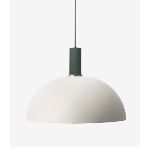 Ferm Living Low Pendant with Dome Shade