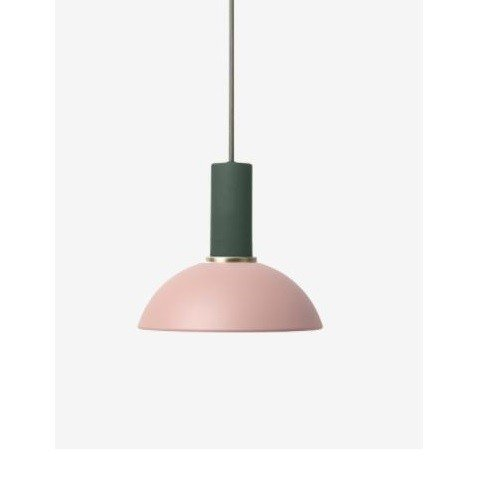 Ferm Living Low Pendant with Hoop Shade