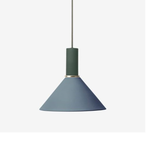 Ferm Living Low Pendant with Cone Shade