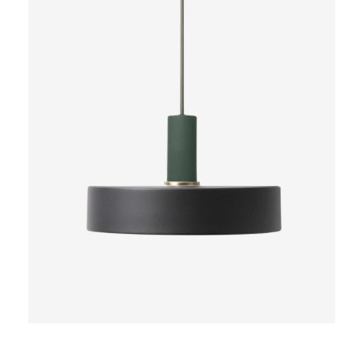Ferm Living Low Pendant with Record Shade