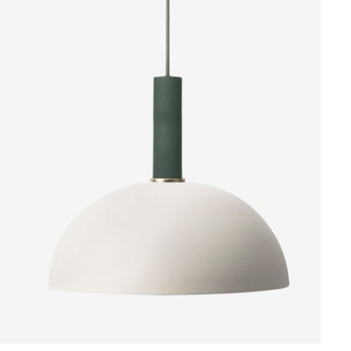 Ferm Living High Pendant with Dome Shade
