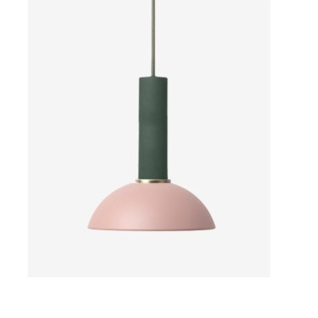 Ferm Living High Pendant with Hoop Shade