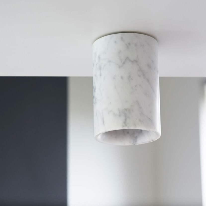 Terence Woodgate Solid Cylinder Downlight - Marble