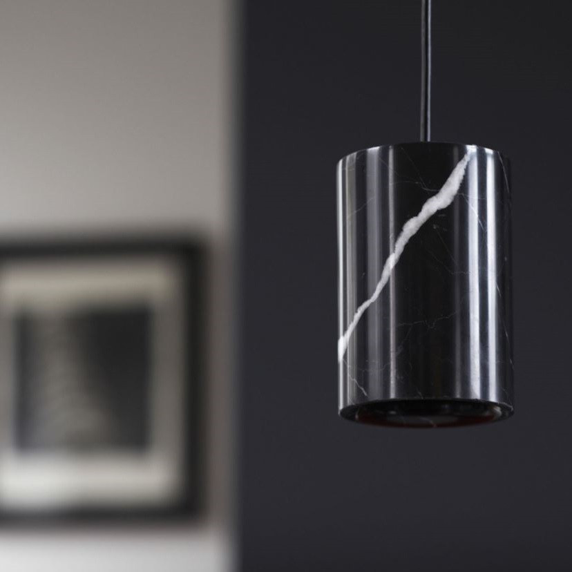 Terence Woodgate Solid Cylinder Suspension - Marble